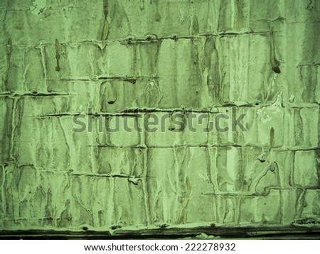 Melt painted grunge background - stock photo