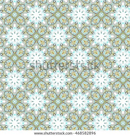 Melting seamless endless abstract colorful sloping kaleidoscopic pattern for background and wallpapers