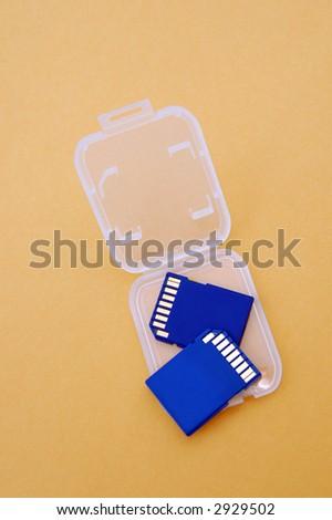 memory for camera - stock photo