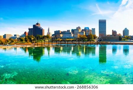 Memphis Skyline - stock photo