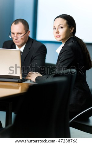 Men and women - stock photo