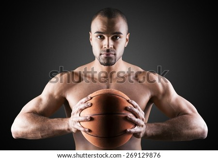 Men, Basketball, Exercising. - stock photo