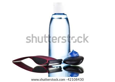 men essentials - stock photo