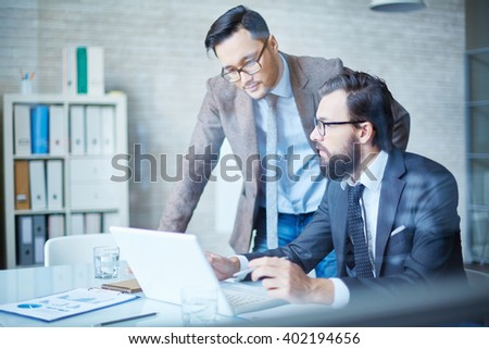 Men in office