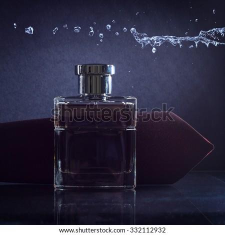 Men's fragrance. - stock photo