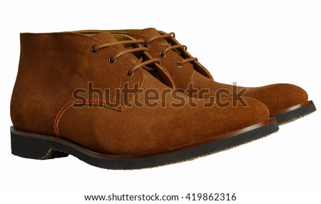 men's shoes casual - stock photo