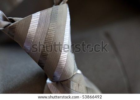 Men's Tie Close Up