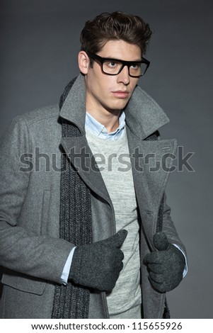 how to look handsome with glasses