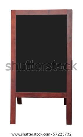 Menu board - stock photo
