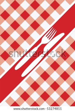 Menu Card Background - stock photo