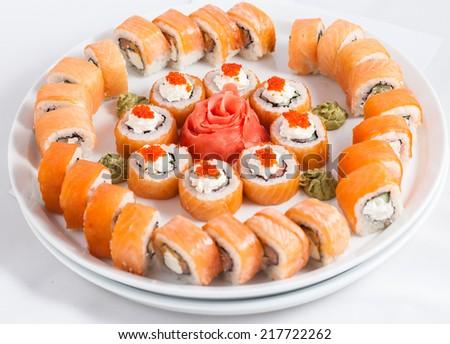 menu restaurant food - stock photo