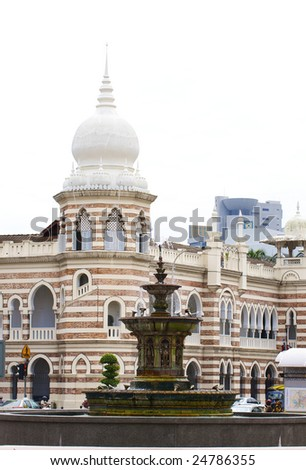 Merdeka square in Kuala Lumpur, Malasia - stock photo