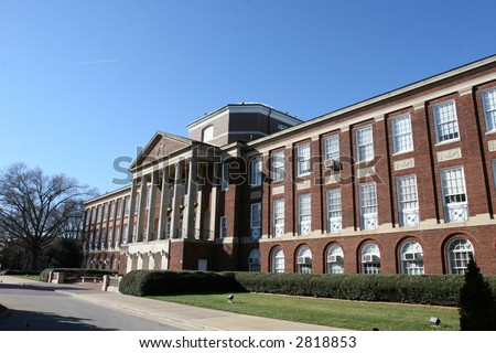 Meredith College, Raleigh, NC - stock photo