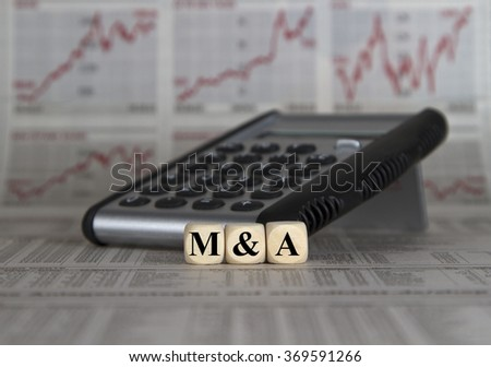 Mergers & Acquisitions  - stock photo