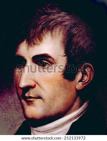 Meriwether Lewis (1774-1809), co-leader of the Lewis & Clark Expedition, partrait by Charles Willson Peale