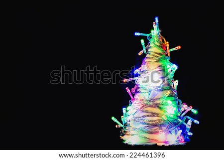 Merry Christmas background picture - stock photo
