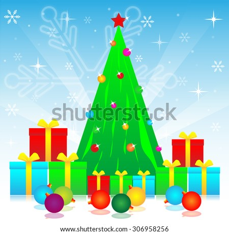 merry christmas festival for the happy and fun  - stock photo