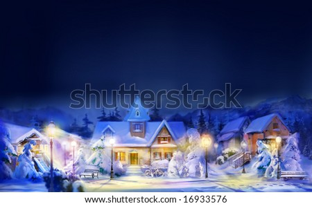 Merry Christmas! Happy New Year!!! - stock photo