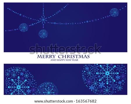 merry christmas template. christmas concept - stock photo
