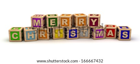 Merry Christmas With Play Cubes