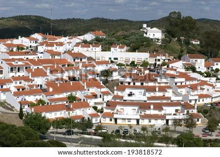 Mertola, old village, Alentejo at south of Portugal  - stock photo