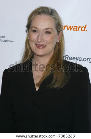 Meryl Streep - stock photo