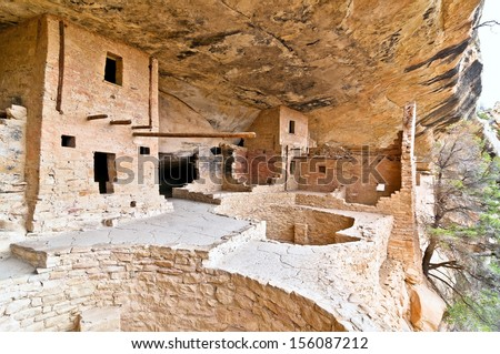 Mesa Verde National park - stock photo