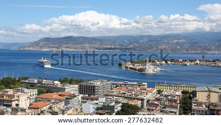 Messina Sicily - stock photo