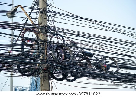 Messy Wiring Stock Photos Images amp Pictures Shutterstock