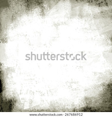 messy paper wall grunge - stock photo