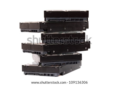 Messy storage - stock photo