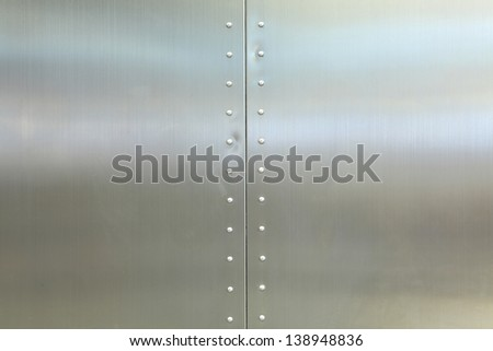 metal background of a office building - stock photo