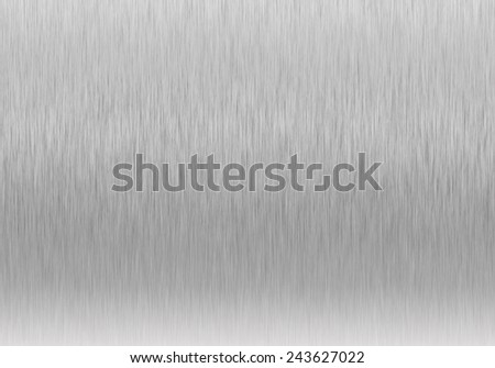 Metal background or texture of with reflections stainless steel - stock photo