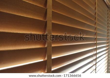 Metal Blinds - stock photo
