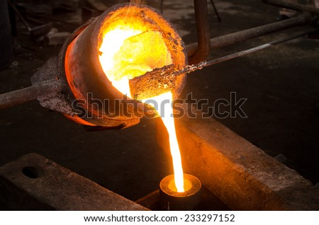 Metal Casting 2 - stock photo