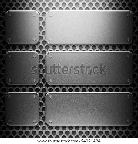 metal construction background