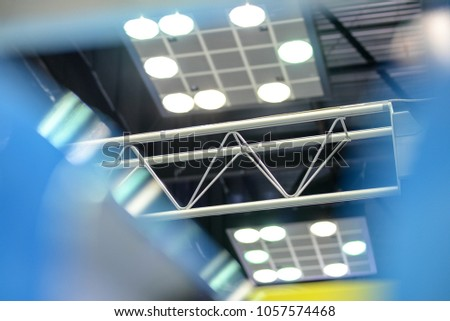 Metal Design Objects Well Lit Environments Stock Photo Royalty Free - Lit metal design