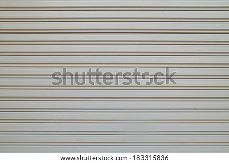 Metal door surface texture background - stock photo