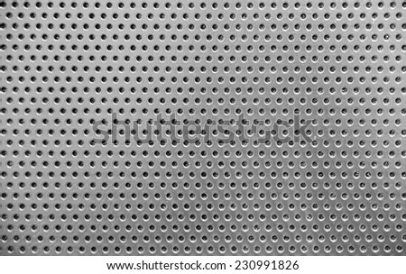 metal grid or grille background - stock photo