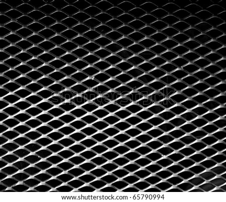 Metal mesh grill. Perfect for background. - stock photo