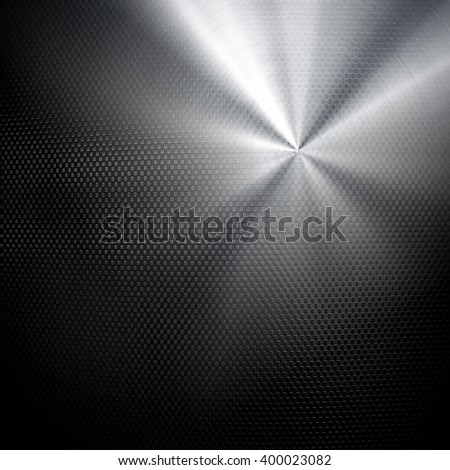 metal mesh with light background - stock photo