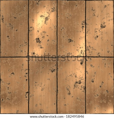 Metal Panels - stock photo
