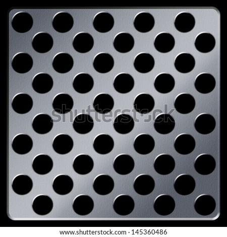 Metal plate , abstract background - stock photo