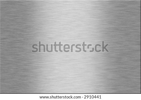 Metal plate series: blank. With room for text - stock photo
