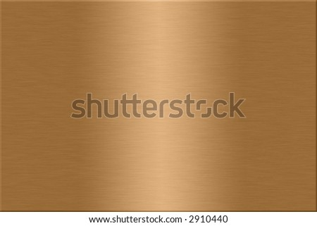 Metal plate series: copper. - stock photo