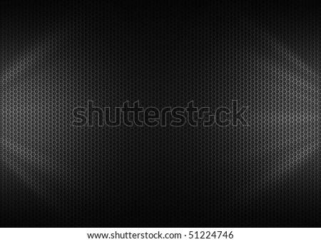 Metal Plating & light ray - stock photo