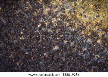 Metal rust texture background - stock photo