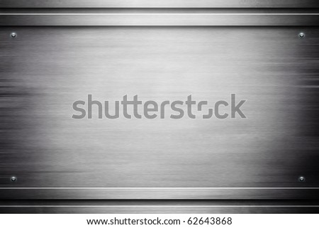 Metal shine background (industrial template) - stock photo