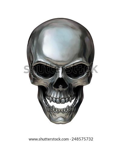 Regina Andrew Design Metal Skull | Candelabra, Inc.