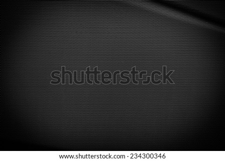 Metal speaker grill for background - stock photo